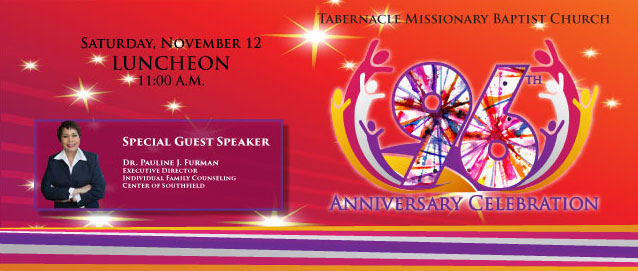 96th Anniversary Celebration Luncheon