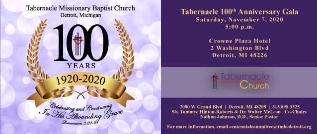 Tabernacle 100th Centennial Gala